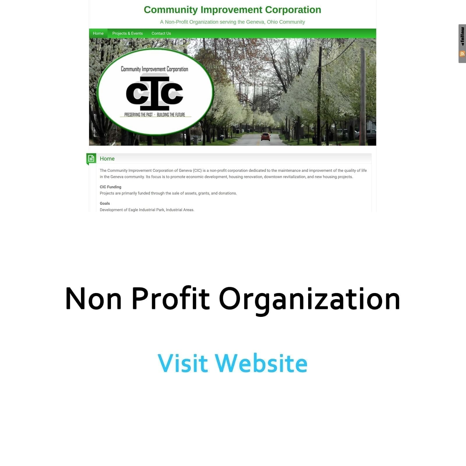 Non Profit Organization Website