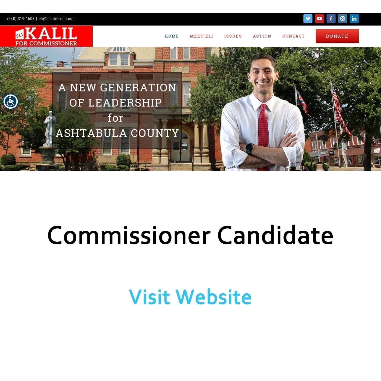 Image of Eli Kalil website