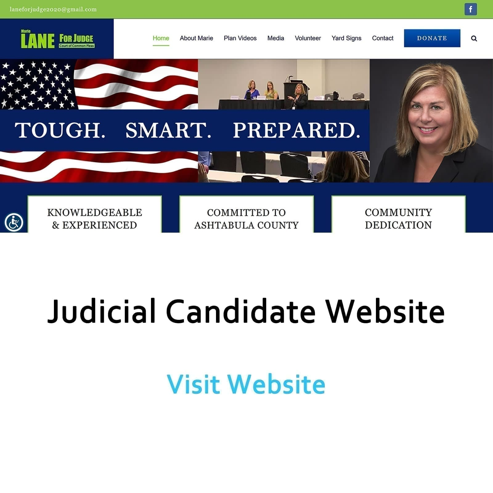 Image of Lane for Judge Website